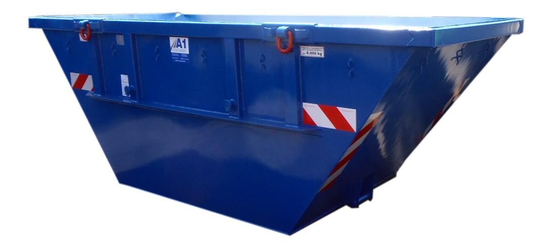 Absetzmulde kranbar nach DIN 30720 (offene Ausführung) - Mulde Container 15 m³