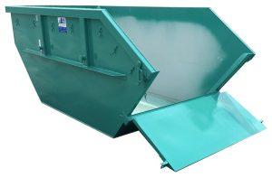 Absetzmulde nach DIN 30720 (mit Bauschuttklappe) - Mulde Container 15 m³