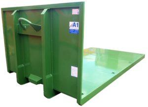 Plattform Abrollcontainer nach DIN 30722-1