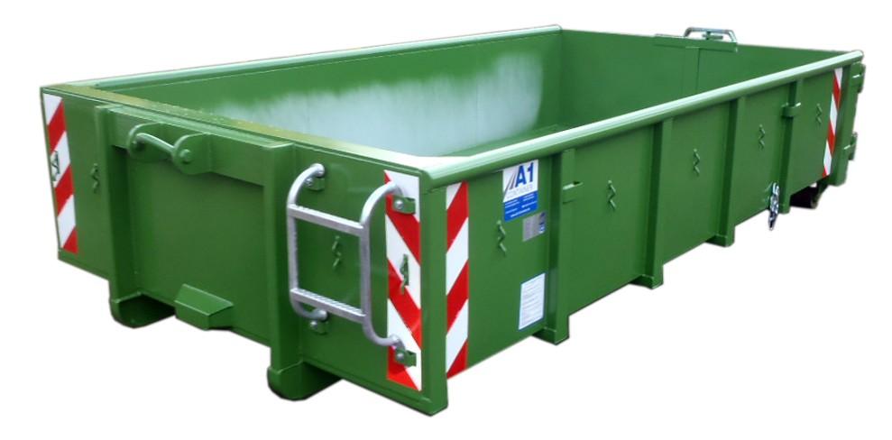 ECOLINE mit Rollplane - Abrollcontainer DIN 30722