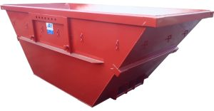 Absetzmulde nach DIN 30720 (offene Ausführung) trapezform - Mulde Container 15 m³