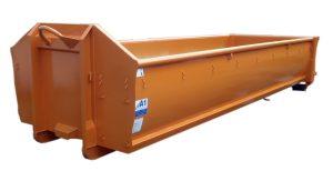 ECOLINE 15m³ spantenfreier Abrollcontainer nach DIN 30722-1