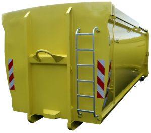 ECOLINE mit Schiebedach - Abrollcontainer DIN 30722