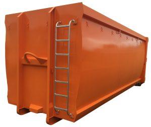 ECOLINE 38m³ spantenfreier Abrollcontainer nach DIN 30722-1