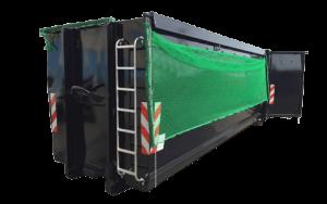ECOLINE mit Klappnetz - Abrollcontainer DIN 30722