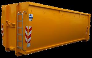 ECOLINE Abrollcontainer geschlossen und ohne Deckel, spantenfrei nach DIN 30722-1