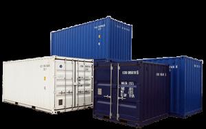 Lagercontainer in den Größe 8 Fuß, 10 Fuß und 20 Fuß Container