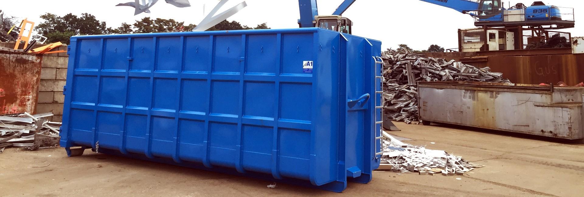 Abrollcontainer und Absetzcontainer Hersteller