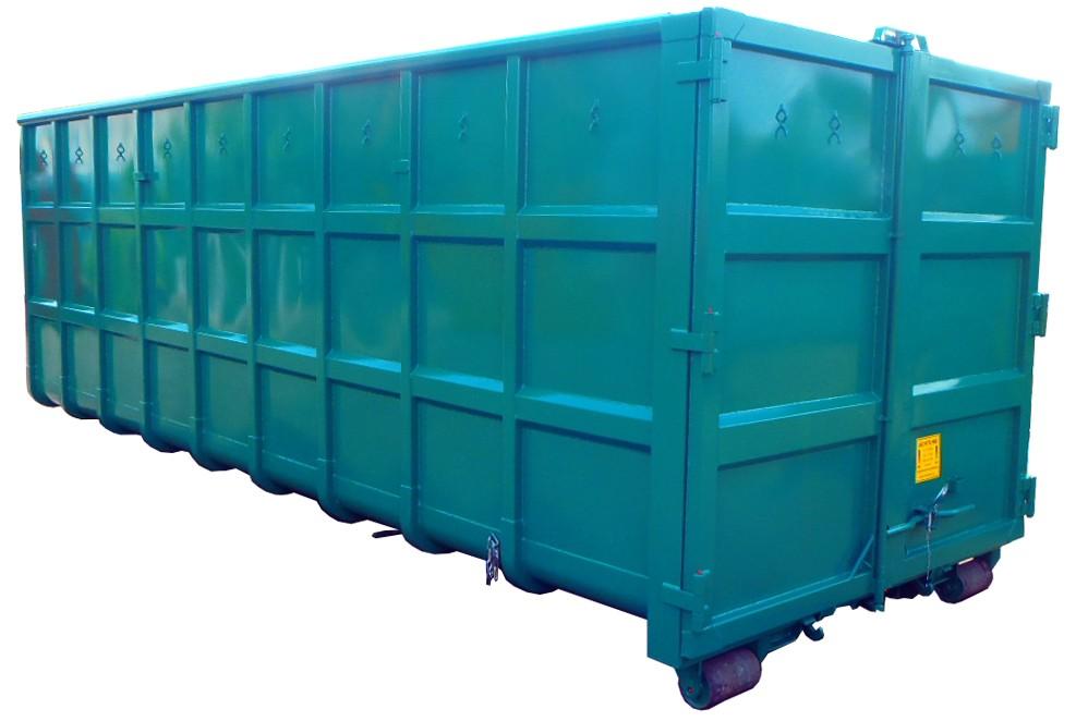 Verstärkter Normbehälter Abrollcontainer nach DIN 30722-1 und DIN 30722-2
