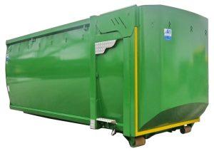 ECOLINE Silagecontainer mit hydraulischer Pendelklappe - Abrollcontainer nach DIN 30722-1