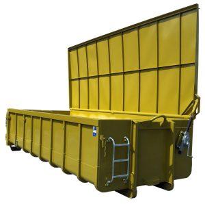 Stockwindendeckel für Normbehälter - Abrollcontainer DIN 30722