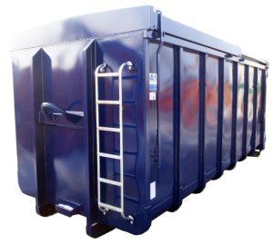 Schiebedeckel für Normbehälter - Abrollcontainer DIN 30722